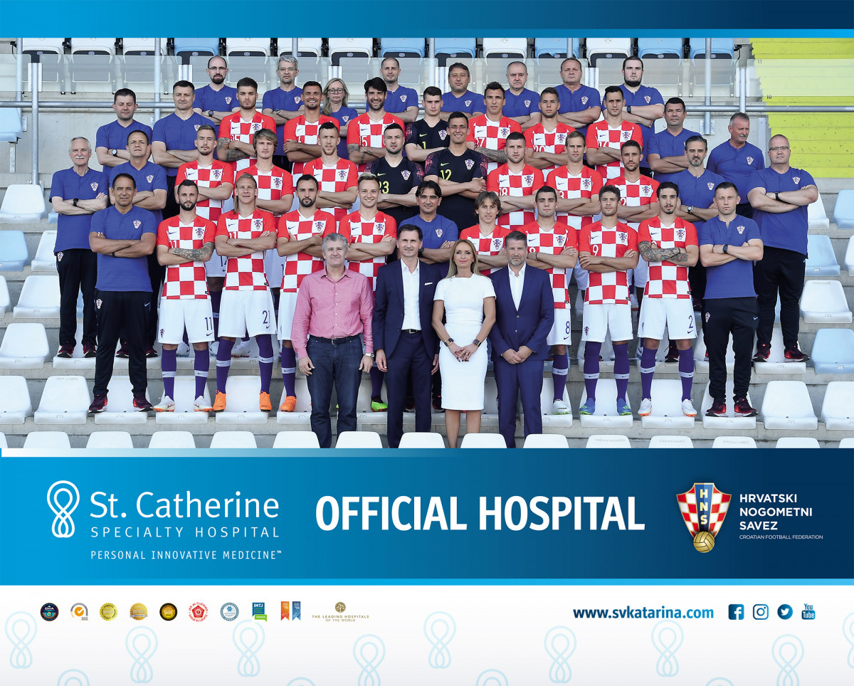 St. Catherine Specialty Hospital is an official hospital for Croatian Football Federation