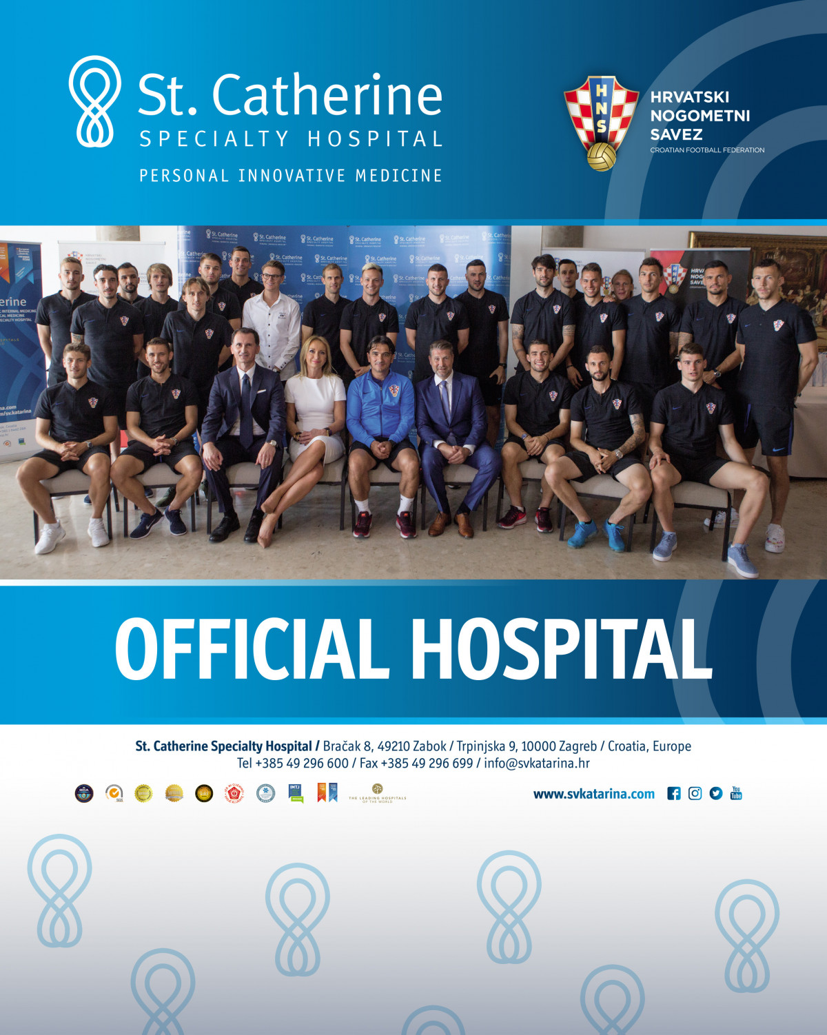 St. Catherine Hospital Becomes an Official Hospital of the Croatian Football Federation