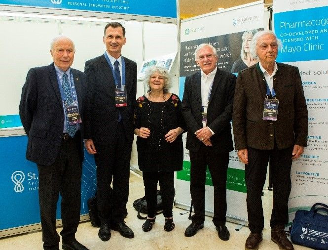Unique event - four Nobel laureates at 11th ISABS Conference in Split